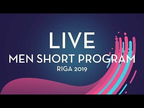 LIVE 🔴 | Men  Short Program | Riga 2019