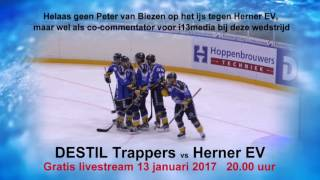 Destil Trappers vs. Herner EV ( 13 januari 2017)