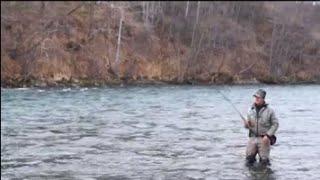 видео Рыбалка на Камчатке - 2 Февраля 2015 - Рыбацкие зарисовки