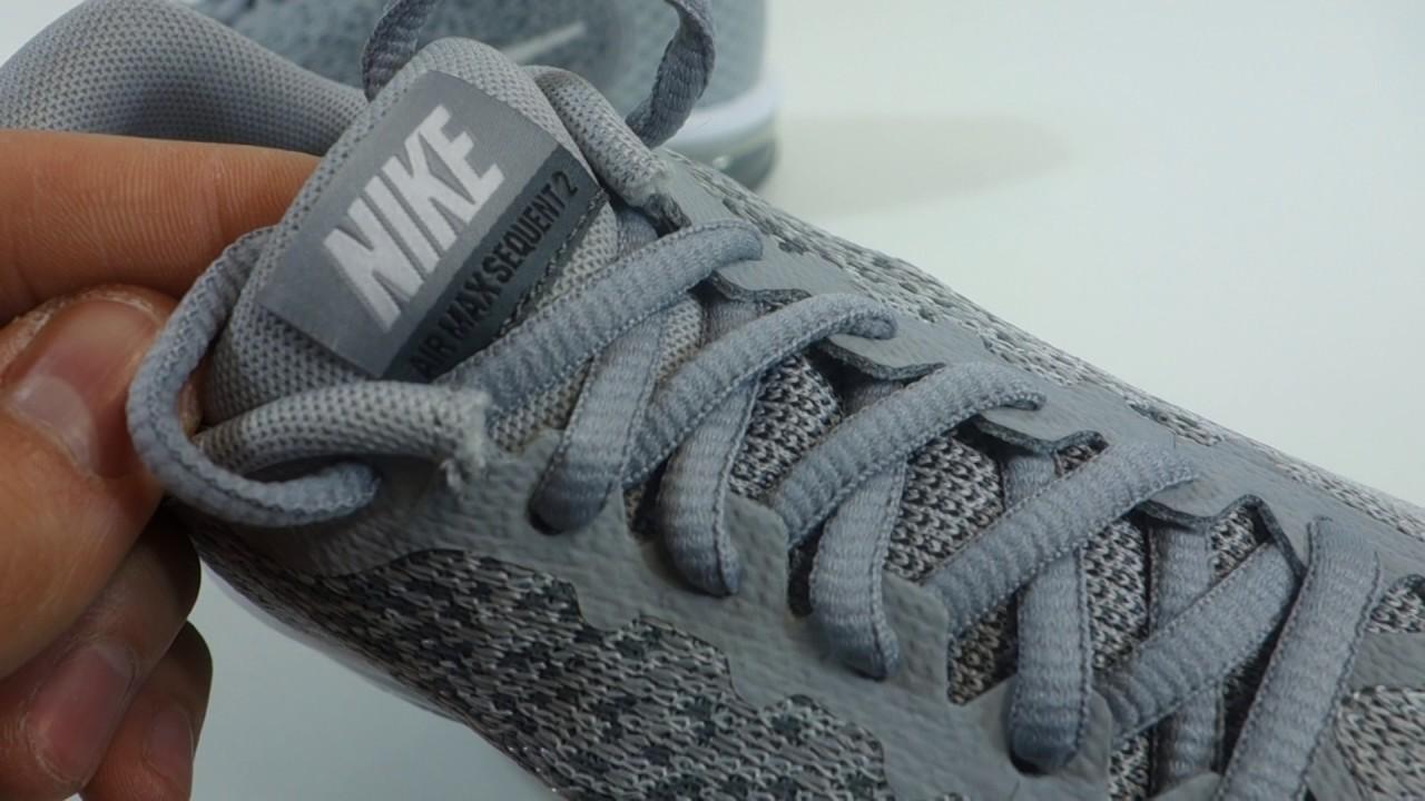 Dětské tenisky značky Nike AIR MAX Sequent 2 (GS) - YouTube 32fac61656