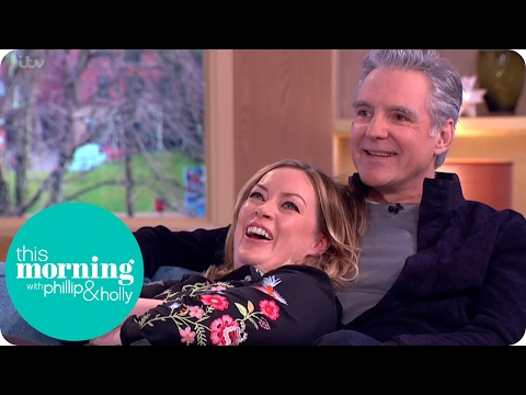 Emmerdale's Michael Praed Sends Sharon Marshall Into a Spin | This Morning