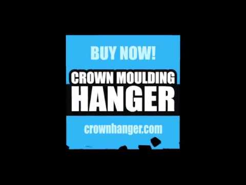 The Crown Hanger - The Must-Have Tool for Crown Molding Installation