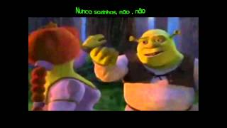 Shrek e Fiona- Accidentally in Love(Legendado)