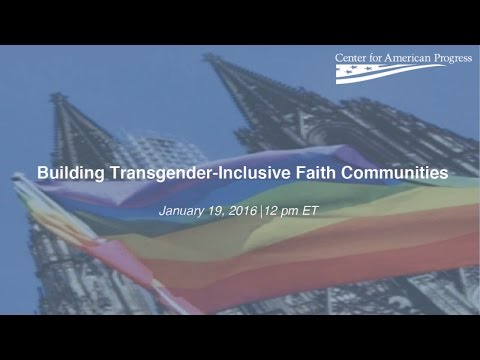 Building Transgender-Inclusive Faith Communities