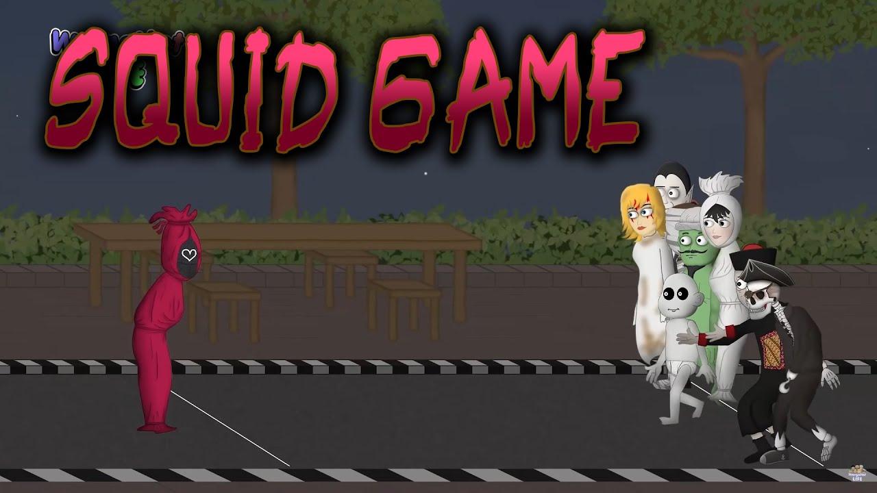 Kopi Gratis Warkop Pocong - Squid Game Parodi - WargaNet Life