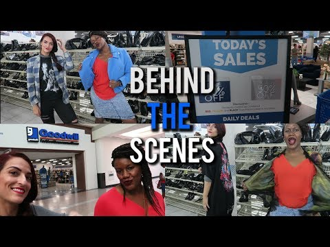 Come Thrifting With Us | Behind the Scenes of Strip to the Boulevard in Las Vegas | #TheBoulevard