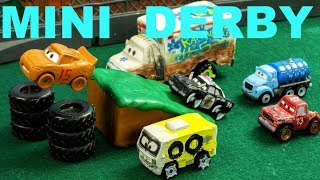 Download Jackson Storm Mini Derby Lightning McQueen has a BIG problem! Mp3 and Videos