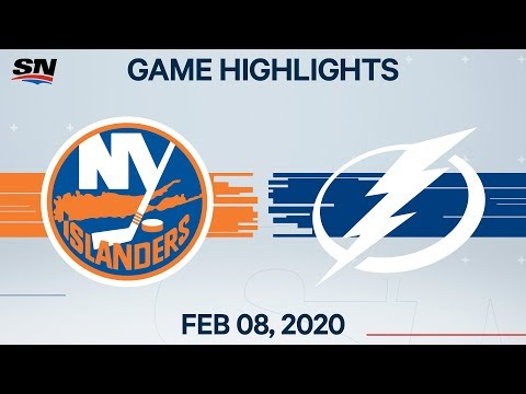 NHL Highlights | Islanders vs Lightning – Feb. 8, 2020