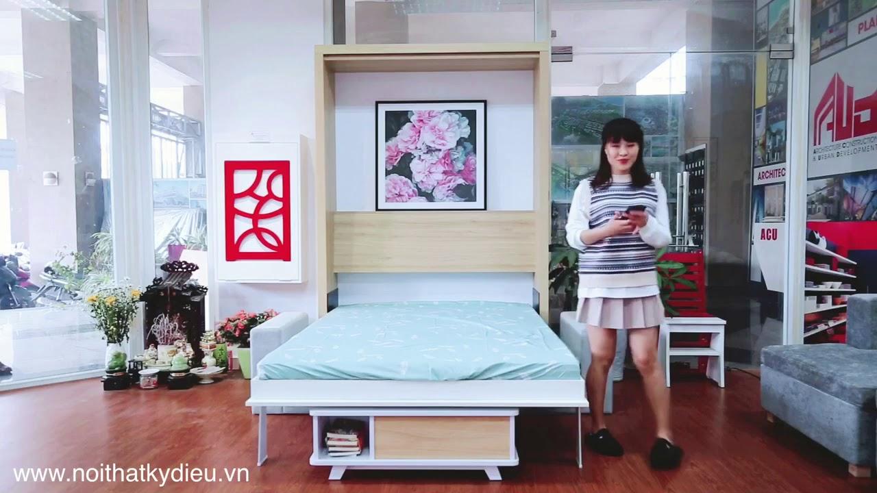 Giường thông minh 4.0 – Điều khiển bằng điện thoại – Smart furniture made in Vietnam