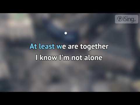 Alan Walker - Alone (karaoke iSing)