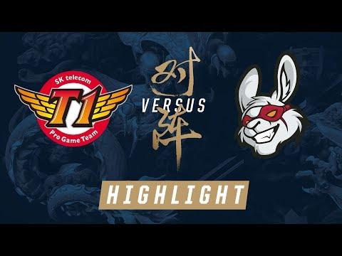 SKT vs MSF Worlds Quarterfinals Match Highlights 2017