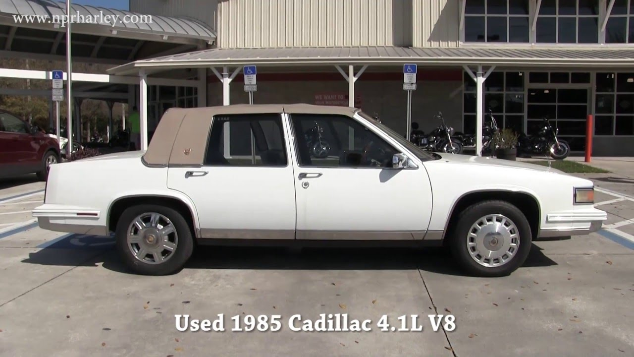1985 Cadillac For Sale On Craigslist Youtube