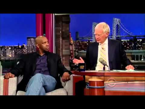 Denzel Washington - Interview Letterman 2013 07 29 HQ