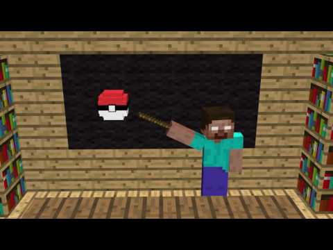 Minecraft Monster School Pokémon fight