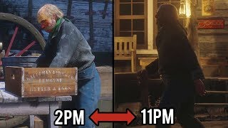 Following NPC's in Red Dead Redemption 2 for a Whole Day.