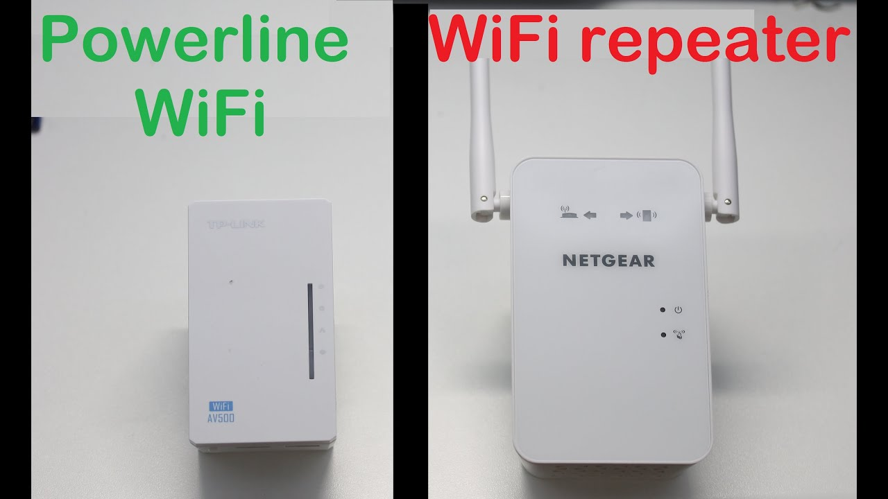 Adapter Wifi Powerline Adaptors Vs Wifi Repeaters: Which Is Fastest