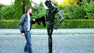 Terminator T-800 encounter...