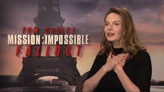 Mission Impossible: Fallout interview with Rebecca Ferguson | Newshub
