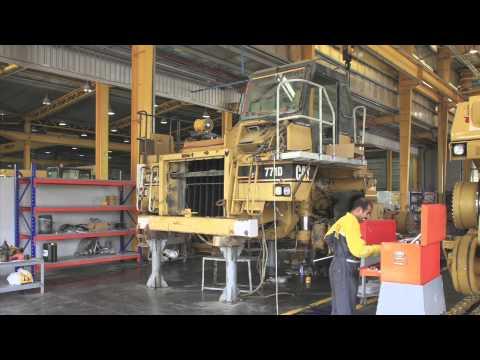 Rebuild of CAT 771D Off Highway Truck by Al-Bahar