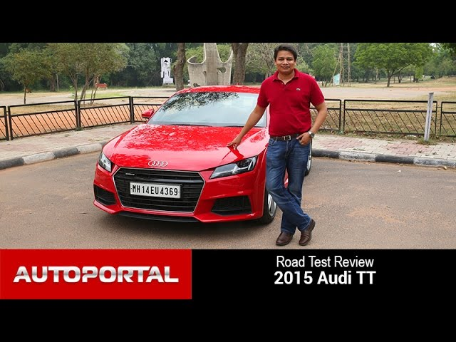 Audi TT 2015 Test Drive Review - Autoportal