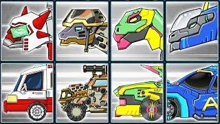 Dino Robot Corps #9: Ankylosaurus & Transformers | Eftsei Gaming