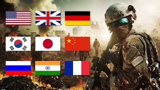 Los 10 Ejércitos más Poderosos del Mundo (2019)