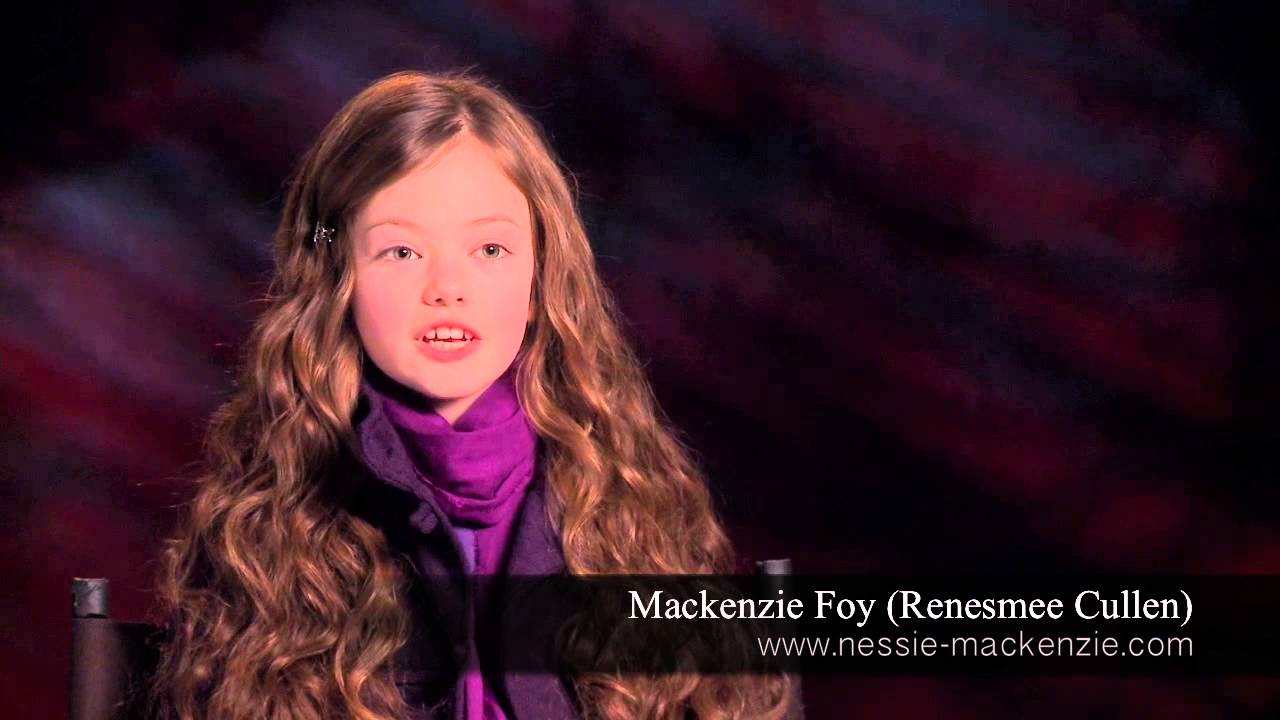 The Twilight Saga Breaking Dawn Part 2: Mackenzie Foy ...