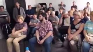 Смотреть видео Встреча В.Мальцева с соратниками в штабе