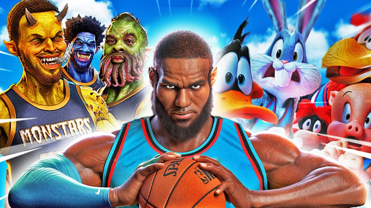 Download SPACE JAM 2 The MOVIE In GTA 5 (Lebron James)