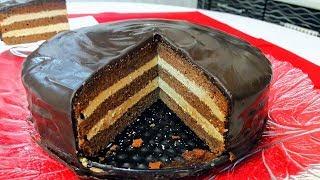 """Торт """"Прага"""" Вкуснейший Шоколадный Пражский Торт!"""