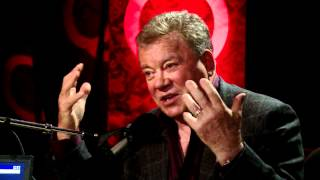 Shatnerverse overlord William Shatner in Studio Q