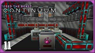 FTB Continuum EP11 Tech Reborn UU Matter Automation