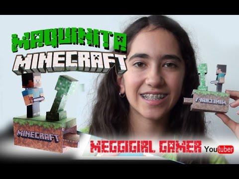 C 243 Mo Hacer Una Maquinita De Minecraft Movible Youtube