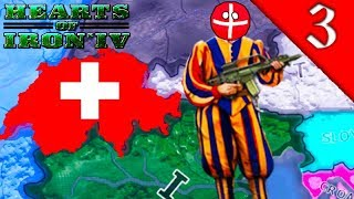 SWITZERLAND NUKES CHINA Hearts of Iron 4 Modern Day Mod HOI4 Challenge Switzerland Gameplay 3