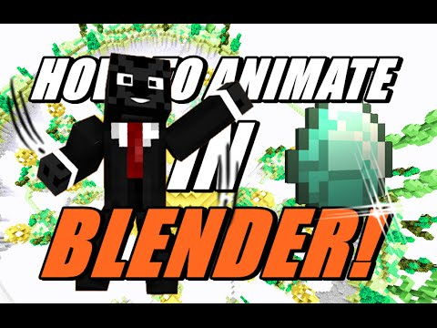 How to animate your minecraft character how to make a animation how to animate your minecraft character how to make a animation using blender ccuart Images