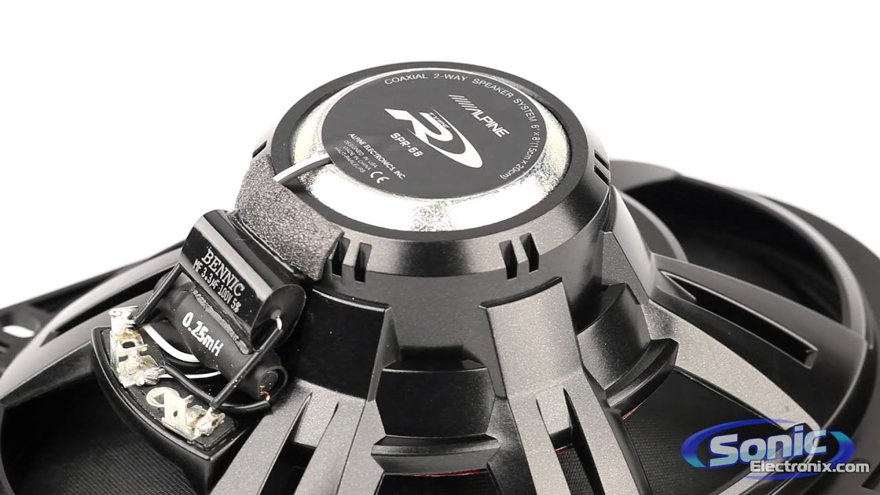 Alpine Type-R Car Speakers - YouTube