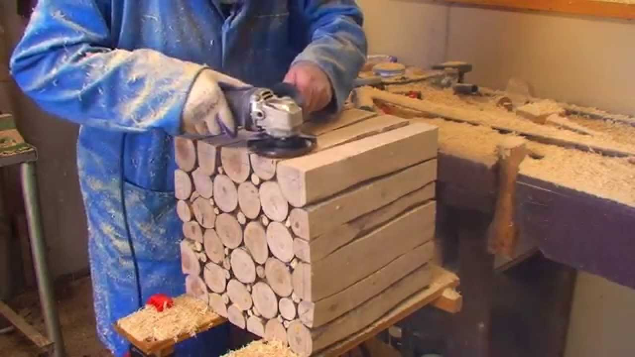 Wood Project How To Make A Stylish Wooden Side Table Part 2 Youtube