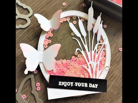 DIY | Happy Friendship Day Card |Transparent Shaker Card | Birthday card | Handmade