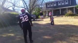 Riley Johnson Touchdown Run with Atlanta Falcons