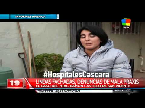 """""""Hospitales cáscara"""", la última investigación de Informes América"""