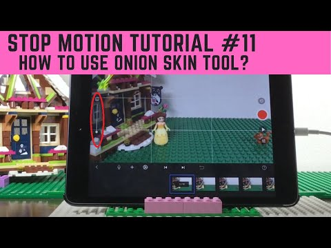 Stop Motion Tutorial #11 - LEGO Disney Princess - How To Precisely Position Legos (w/ Onion Skin )