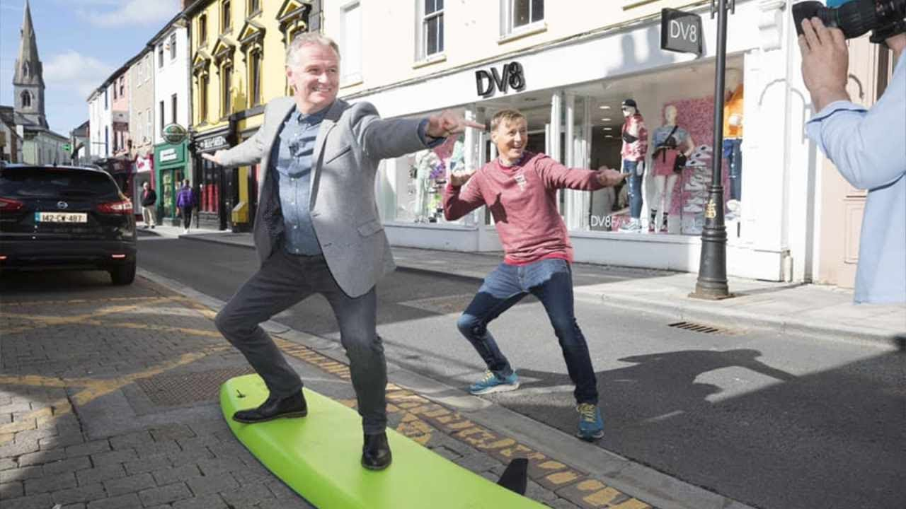 Surfing on A Main Street?