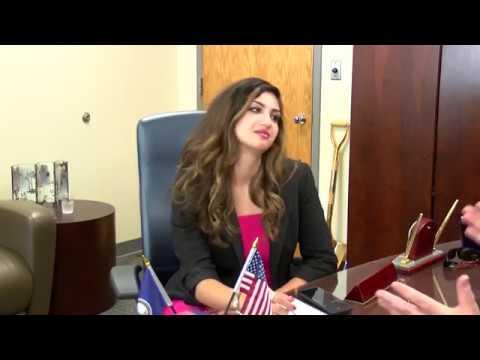 Elina Shirazi interviewsCorey Stewart, the man running against SenatorTim Kaine in the 2018 election (viaWUSA-TV)