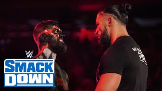 The Demon stands face to face with Roman Reigns SmackDown Sept 10 2021