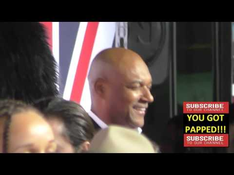 Colin Salmon at the London Has Fallen Premiere at ArcLight Theatre in Hollywood