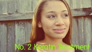 Keratin Hair Treatment Before & After (#2)