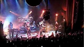 NIGHTWISH en argentina 15 12 2012 over the hills and far away