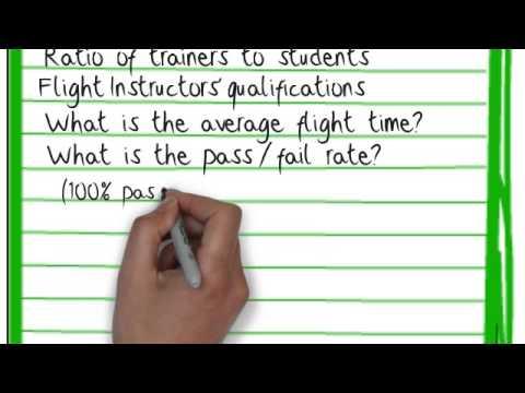 How to Choose a Flight School