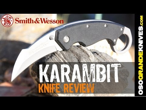 S&W Extreme Ops CK33 Folding Karambit Knife Review | OsoGrandeKnives