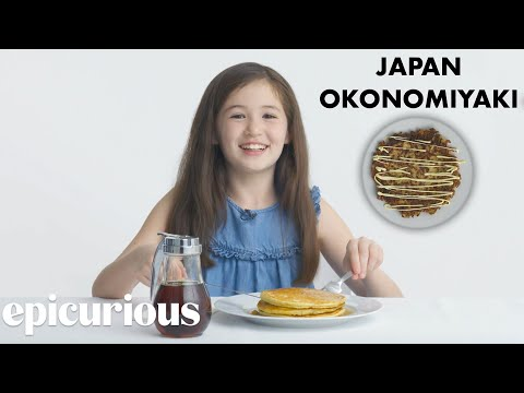 Kids Try 10 Kinds of Pancakes from Around the World